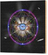 Sacred Geometry 100 Wood Print