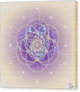 Sacred Geometry 140 Wood Print