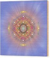 Sacred Geometry 156 Wood Print