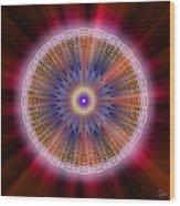Sacred Geometry 176 Wood Print