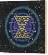 Sacred Geometry 181 Wood Print