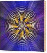 Sacred Geometry 184 Wood Print