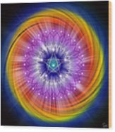 Sacred Geometry 244 Wood Print