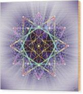 Sacred Geometry 245 Wood Print