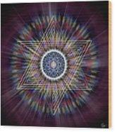Sacred Geometry 317 Wood Print