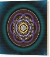 Sacred Geometry 332 Wood Print
