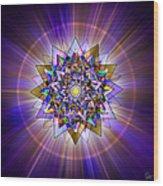 Sacred Geometry 386 Wood Print