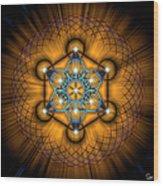 Sacred Geometry 68 Wood Print