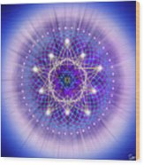 Sacred Geometry 69 Wood Print