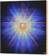 Sacred Geometry 88 Wood Print