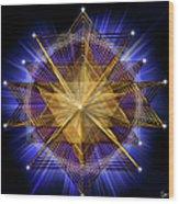 Sacred Geometry 91 Wood Print