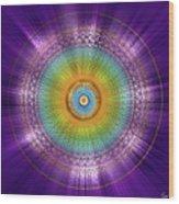 Sacred Geometry 96 Wood Print