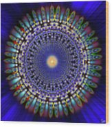 Sacred Geometry 97 Wood Print