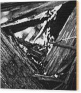 Sacred Geometry - The Triangle Wood Print