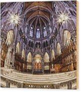 Sacred Heart Sanctuary Wood Print