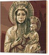 Sacred Icon Wood Print