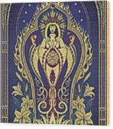 Sacred Mother - Global Goddess Series Wood Print