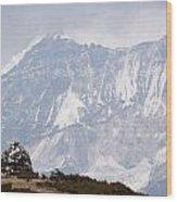 Sacred Mountain Wood Print