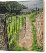 Sacred Path Wood Print