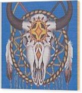 Sacred Things Wood Print by Billie Bowles
