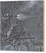 Saddle Sniper Wood Print