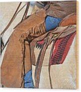 Saddle Up I Wood Print