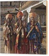 Sadus Holy Men Of India Wood Print
