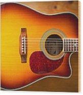 Saehan Guitar Body Wood Print