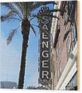 Saenger Theater New Orleans Wood Print