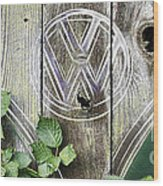 Safari Fence Wood Print
