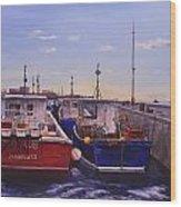 Safe Harbor Wood Print
