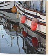 Safe Harbour Wood Print