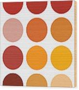 Saffron Colors Wood Print by Frank Tschakert