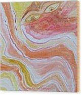 Saga Of Woman Wood Print