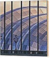 Sage Gateshead Wood Print