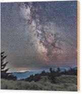 Sagittarius Over Sagebrush Wood Print