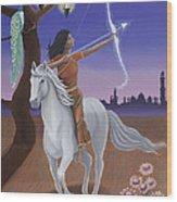 Sagittarius / Saraswati Wood Print