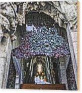 Sagrada Familia Doors - Barcelona - Spain Wood Print