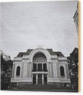 Saigon Opera House Wood Print