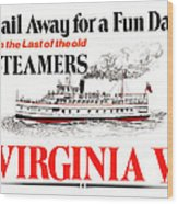 Sail Away For A Fun Day Wood Print