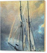 Sail Away To Avalon Wood Print by Taylan Apukovska