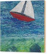 Sail Wood Print