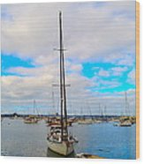 Sail Me Wood Print