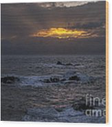 Sail Rock Sunrise 2 Wood Print