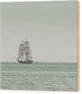 Sail Ship 1 Wood Print