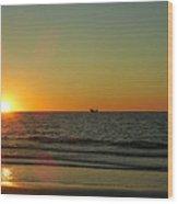 Sail To The Horizon  Wood Print