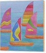Sailabration Wood Print