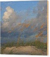 Sailboat Wrightsville Beach North Carolina  Wood Print