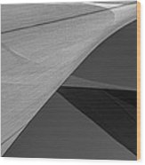 Sailcloth Abstract Number 9 Wood Print