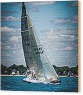 Sailing 97045 Wood Print